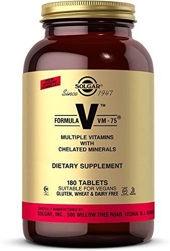 Solgar Formula VM-75, 180 Tablets - Multivitamin with Chel...