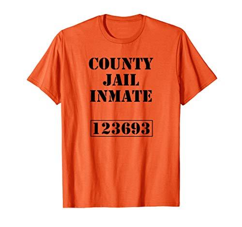 Knast Gefängnis Karneval Kostüm Jail Insasse T-Shirt