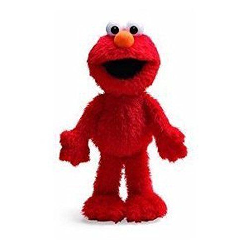 1 X Sesame Street Soft Plush - 14in Elmo Plush Doll by Nanco