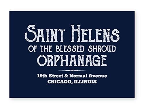 Póster inspirado en la película Orfanage Blues Brothers de Saint Helens., papel, Sin marco., A4