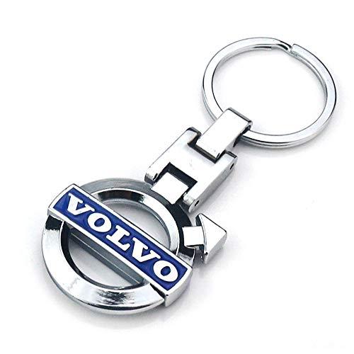 VILLSION 3D Auto Logo Schlüsselanhänger Doppelseitige Legierung Metall Car Auto Schlüssel Schlüsselkette Zubehör Mit Geschenkbox