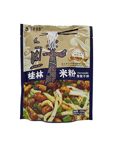Sanyang Guilin Rice Noodle with Seasoning Packets, Classic Flavor, 9.17 Ounce