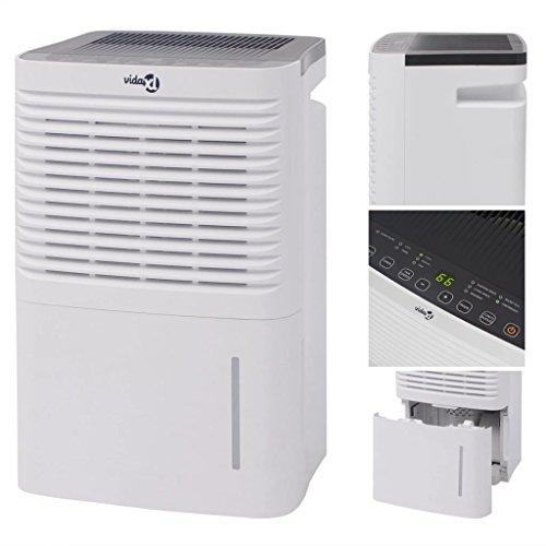 vidaXL Deumidificatore purificatore per aria anti muffa condensa 30 L/24 h 500 W
