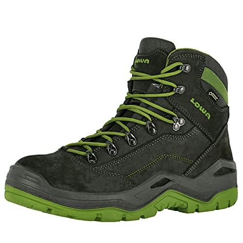 Lowa Renegade Work GTX Mid S3, Farbe:schwarz/grün, Schuhgröße:42 (UK 8)