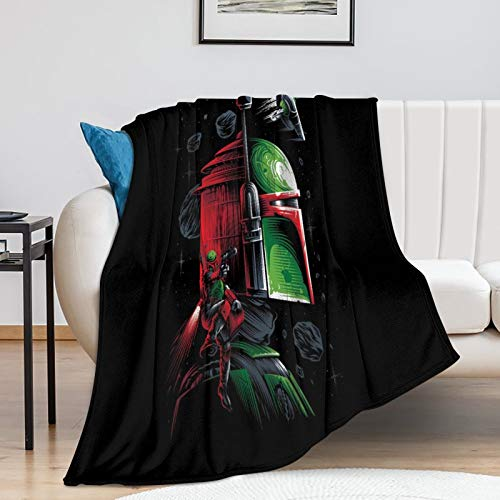 Trend Pattern Blanket Star Wars The Child Mandalorian Season 2 Kids Gifts for Men Blanket (130x150cm)