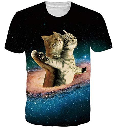 Loveternal 3D T-Shirt Digital 3D Impreso...