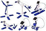 COSMOLINO Solar Roboter 6 in 1, Lernspielzeug, Roboter Bausatz, Mini Roboter,Bausatz für Jungen und Mädchen, Solar Experiment, Roboter Kinder Solar