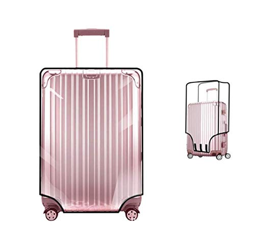 Suitcase cover luggage covers PVC clear luggage cover protector travel luggage protector covers 20' 22' 24' 26' 28' 30''