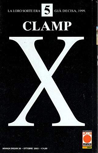 manga X CLAMP Nr. 5 Ed. Panini Planet