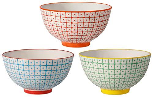Bloomingville Bols Isabella Multicolores C/éramique