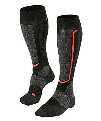 FALKE Damen SB2 W KH Snowboard-Socken, Schwarz (Black-Mix 3010), 39-40 (UK 5.5-6.5 Ι US 8-9)