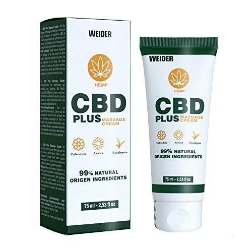 Weider Anti-inflammatory Cream, CBD cream for massage, 75 ml
