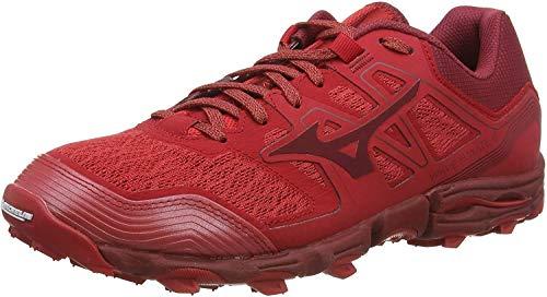 Mizuno Wave Hayate 6, Zapatillas de Running para Asfalto para Hombre, Rojo (Cred/Biking Red 56), 39 EU