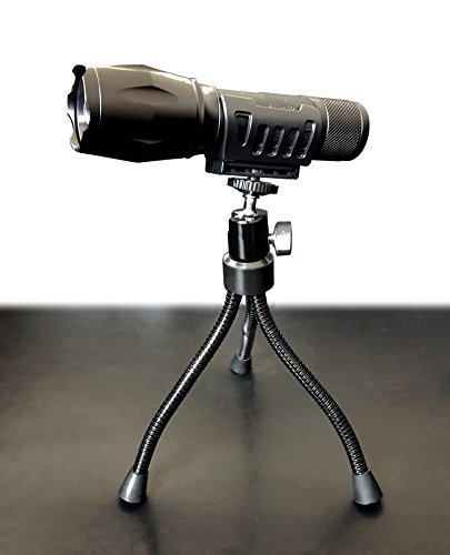 Bell + Howell Tripod for Taclight Flashlight with 360-Degree Rotating Head