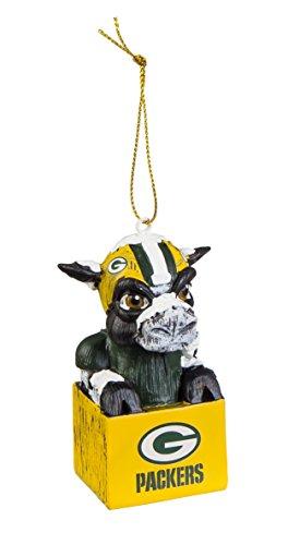 Team Sport Amerika 3ot3811mas Green Bay Packers Maskottchen Ornament