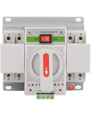 Interruptor de transferencia automática Mini interruptor inteligente de doble potencia 220V 63A 2P/3P/4P blanco/azul