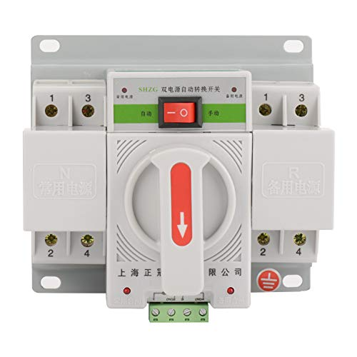 220v 63a 2p Interruptor Automático De Transferencia Mini Interruptor De Potencia Electrónico Inteligente Inteligente