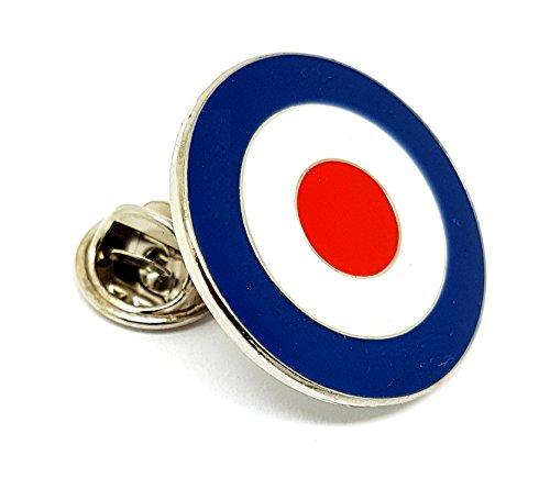 Metal Enamel Pin Badge Scooter Vespa Lambretta RAF MOD Target Bullseye by Mainly Metal