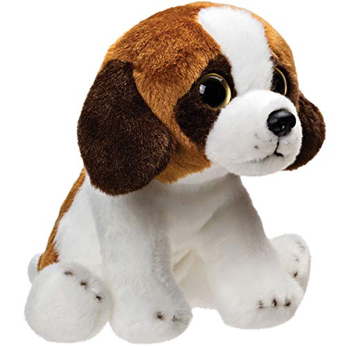 Suki Gifts 12810 Yomiko Babies 12810 - Kuscheltier Bernhardiner Hund, mehrfarbig