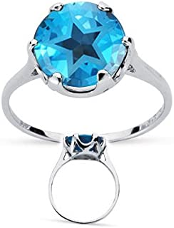 texas blue topaz rings