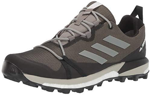 adidas Outdoor Men's TERREX SKYCHASER LT GTX Athletic Shoe, TRACE CARGO/SESAME/BLACK, 15 D US