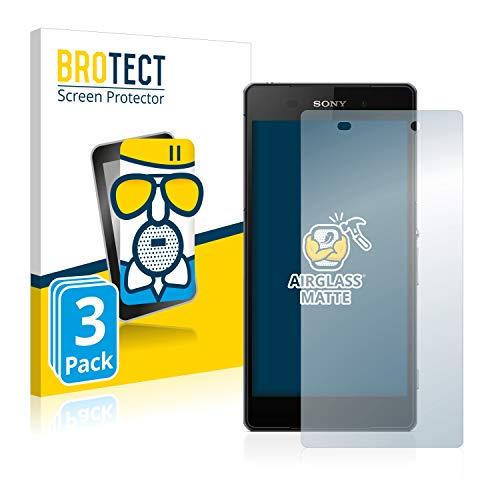 BROTECT Protector Pantalla Cristal Mate Compatible con Sony Xperia Z2 D6503 Protector...