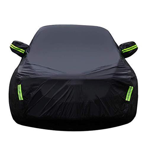 SJMFGF Funda de coche compatible con BMW Serie 3 Touring cubierta completa del vehículo cubierta exterior interior lluvia sol protección UV para todo tipo de clima, color negro-m340d Xdrive Touring)