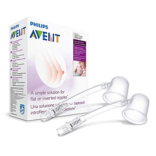 Philips Avent Niplette, Helps Mums with Flat or Inverted Nipples to Breastfeed, SCF152/02