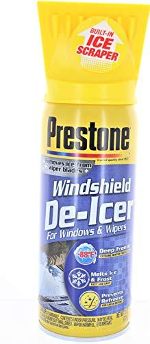 Prestone AS242 Windshield De-Icer - 11 oz. Aerosol 2 Pack