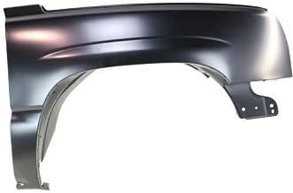 Passenger Right Side Fender Primered RH CarPartsDepot 371-15211-02 GM1241305 88944419