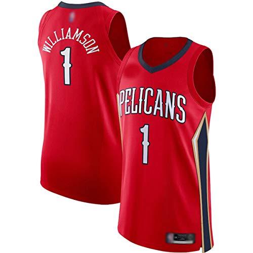 DODE Camiseta de entrenamiento de baloncesto personalizada #1 rojo, camiseta de jugador transpirable de manga corta para hombre