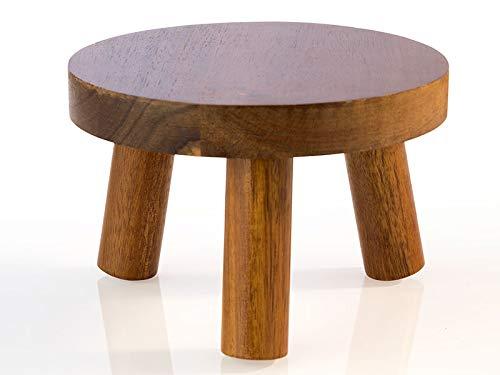 APS Expositor de buffet - madera de acacia, Ø 15, altura: 10 cm