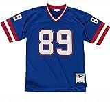 Mitchell & Ness NFL Legacy New York Giants Mark Bavaro #89 - Balón de fútbol Americano, Color Azul Marino Azul XL