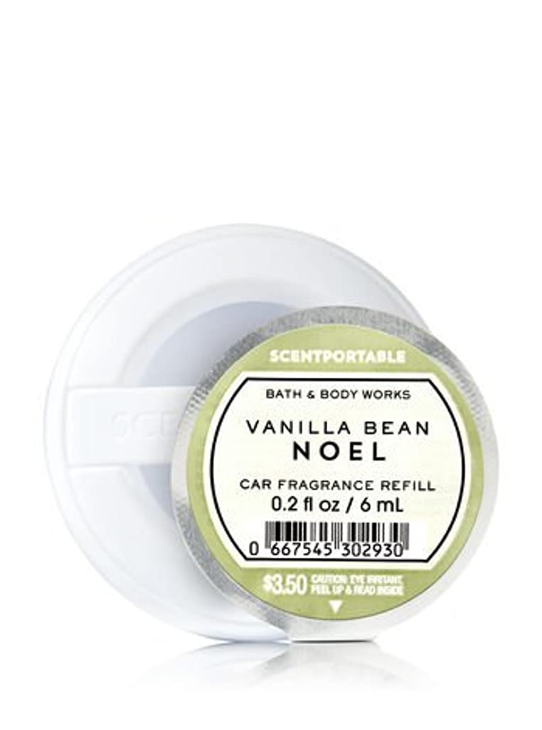 主張ドレス派手【Bath&Body Works/バス&ボディワークス】 クリップ式芳香剤 セントポータブル詰替えリフィル バニラビーンノエル Scentportable Fragrance Refill Vanilla Bean Noel [並行輸入品]