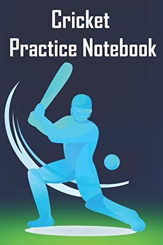 cricket practice notebook: Write In - Primary Lined Notebook to write your note