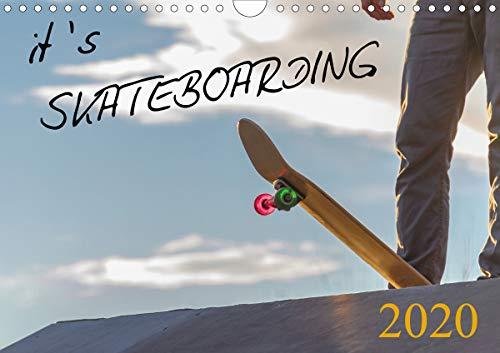 it's SKATEBOARDING (Wandkalender 2020 DIN A4 quer)