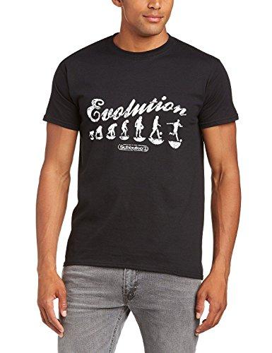 Subbuteo Evolution Football T-Shirt Black, GR.L