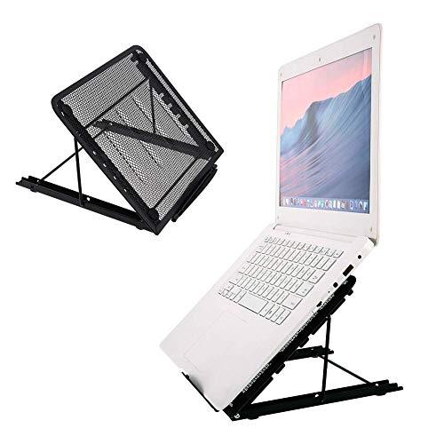 Iwinna Laptop Stand, Foldable Portable Ventilated Desktop Laptop Holder, Universal Lightweight&Adjustable Mount Compatible with iM(AC)/Laptop/Notebook Computer/Tablet