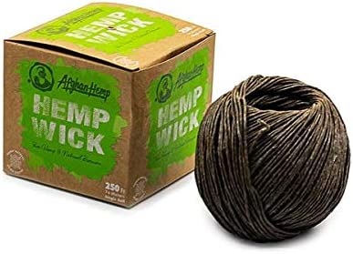 Afghan Hemp All Natural 250 ft Large-scale sale Free Wick Ball Washington Mall Puff Pas