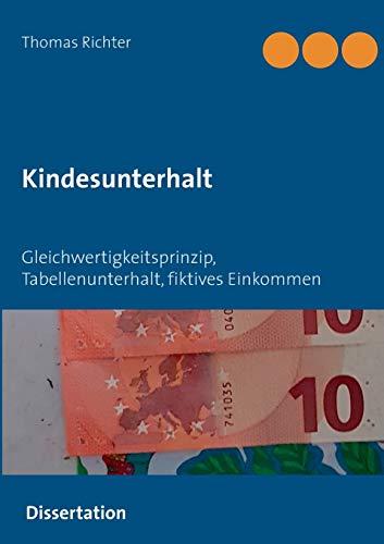 Kindesunterhalt: Gleichwertigkeitsprinzip, Berechnung, Mindestbedarf, Tabellenunterhalt, Selbstbehalt, fiktives Einkommen