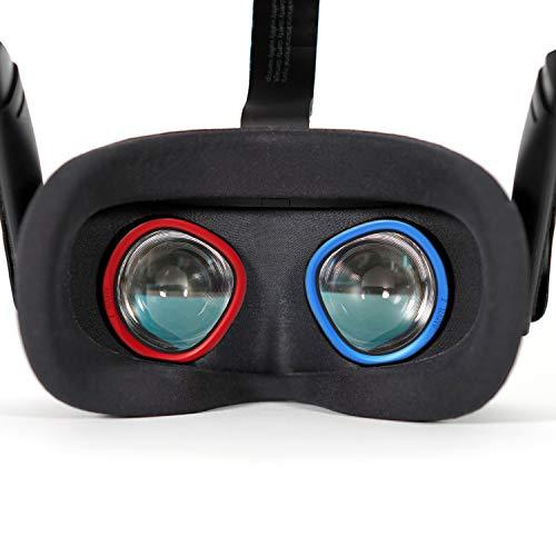 AMVR Lente antiarañazos, anillo protector de miopía de arañazos, lentes compatibles con Oculus Quest, Rift S u Oculus Go
