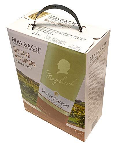 Maybach Weißer Burgunder trocken Bag-in-Box (1 x 3 l) - 4