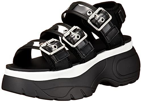 [ウィゴー] 厚底 サンダル スポーツサンダル スポサン ボリュームソール 靴 シューズ スニーカー レディース S 柄2