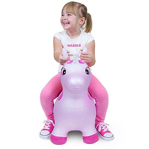 WADDLE Pink Unicorn Toy...