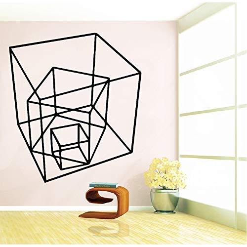 BailongXiao Etiqueta Cuadrada Tridimensional Impermeable Vinilo Papel Tapiz Sala de Estar Dormitorio...