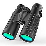IF.HLMF Binoculares Profesionales HD 12X42 para observación de Aves Campo de visión Extra Ancho Impermeable Disparos, Viajes, Turismo, Caza, observación de Aves, conciertos