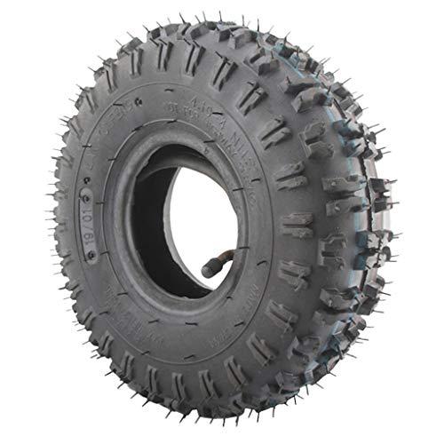 perfk 4.10-4 410-4 4.10/3.50-4 Neumático Neumático + Reemplazo Del Tubo Interior Para El Soplador De Nieve Garden Rototiller Go Cart