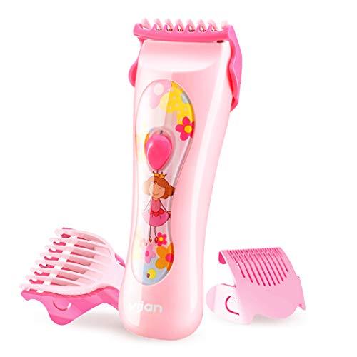 Haar clipper Kleine meisje roze Baby Mute en waterdicht Low shock motor Opladen Huishouden met Barber tools Mannen