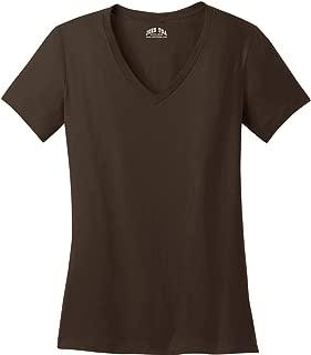 Ladies Soft V-Neck T-Shirts in Sizes XS-4XL