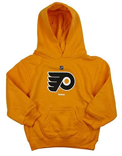 Reebok LNH Flyers de Philadelphie Little Boys Kids Pull en Polaire à Capuche pour Homme, Orange Grand (7) – Orange